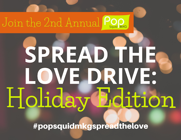 """Featured image for """"2nd Annual Pop Squid MKG 'Spread The Love' Drive: HOLIDAY EDITION 2019"""""""